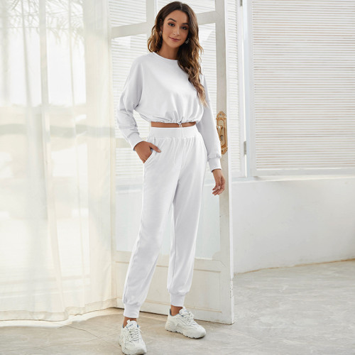 Sports and leisure two-piece short sports suit