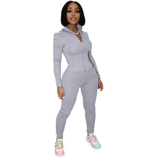 Copy Leisure finger sports suit (two-piece suit)