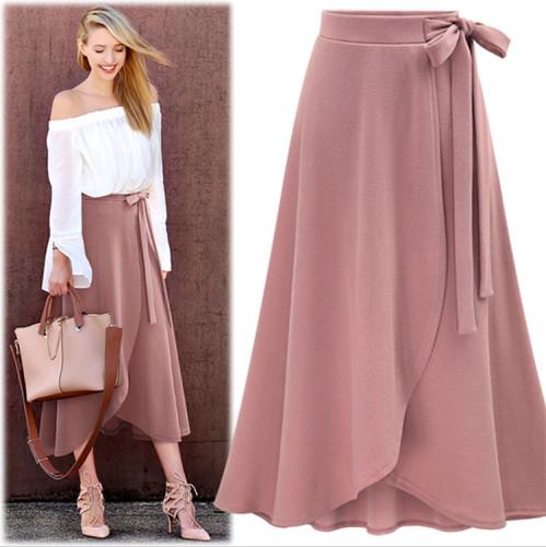 Pink  Temperament geometric print loose stand collar pullover shirt women