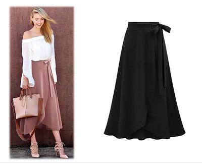 Black  Temperament geometric print loose stand collar pullover shirt women