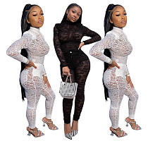 Perspective Sexy Lace Nightclub Two Pieces Suits YF-9583