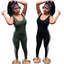 Sexy Backless Sleeveless Slim Long Jumpsuit LSL-6081