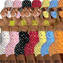 Hat Wrap Mini Sexy Dress 3 Pieces Set With Mask CYA-8400