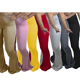 Casual Tight Plus Size Large Flared Trousers SMD-5012