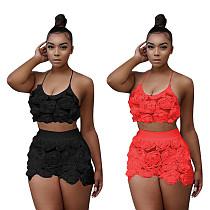 Women Lingerie Lace Underwear Bra Sleepwear 2 Piece Set TE-4194