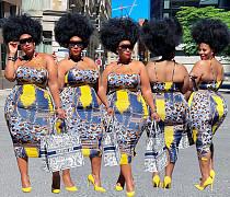 Plus Size Women Summer Clothing 2021 Club Print Sleeveless Halter Backless Sexy Midi Dress YIHAO-60040