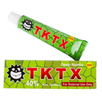 TKTX 40% Green Numbing Cream Anesthetic 4-5 hours Fast Semi Permanent Skin Body Duration 10g
