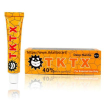 TKTX 40% Yellow Numbing Cream Anesthetic 4-5 hours Fast Semi Permanent Skin Body Duration 10g