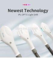 Best lamp 10*50mm spot size IPL SHR tile/handle/handpiece for hair removal