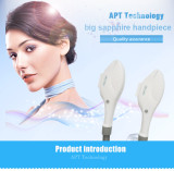 Best lamp 10*50mm spot size IPL SHR tile/handle/handpiece for hair removal