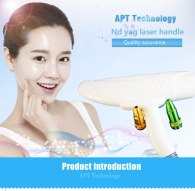 Nd Yag Laser handle / Handpiece for Tattoo removal and Skin Rejuvenation device