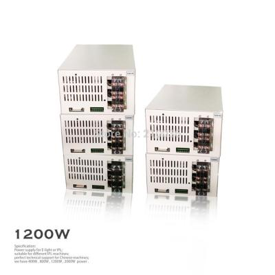 model dz 1200W IPL SHR POWER SUPPLY with scientific design and efficient heat dissipation