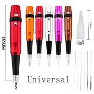 Hot Sell Dermograph Universal Swiss Motor Permanent Makeup Eyebrow Eyeliner Lip Pen Beauty Tattoo Machine With Universal Needles