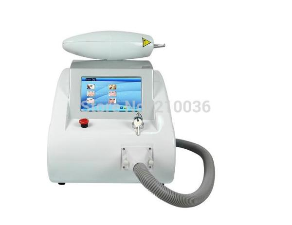 High quality 1064nm 532nm black doll laser peeling ND YAG laser tattoo removal eyebrow pigment removal machine with aiming beam