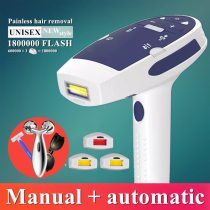 1800000 flash 2in1 IPL laser hair removal machine laser epilator hair removal permanent bikini trimmer electric depilador laser