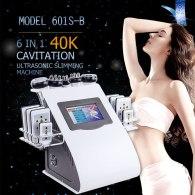Ultrasonic Liposuction 40K Cavitation Radio Frequency Vacuum Bipolar RF Machine Slimming Beauty Equipment with lipo laser board