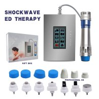 Touch Screen ED Electromagnetic Extracorporeal Shock Wave Therapy Massage Gun Pain Relief Shockwave Therapy Machine Health Care