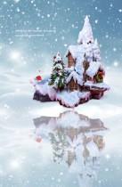 【Preorder】Made Studio Pokemon winter scene resin statue's post card