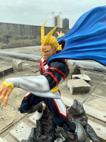 【Preorder】Nine Tails Studio My Hero Academia All·Might resin statue's post card