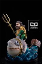 【In Stock】CO Signature DC Fat Aquaman Mum Mum Chubby SD scale resin statue