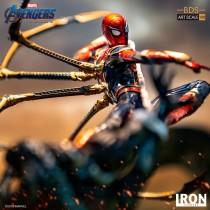 【In Stock】Iron Studio Marvel Avengers Endgame Iron SpiderMan Vs Outrider statue