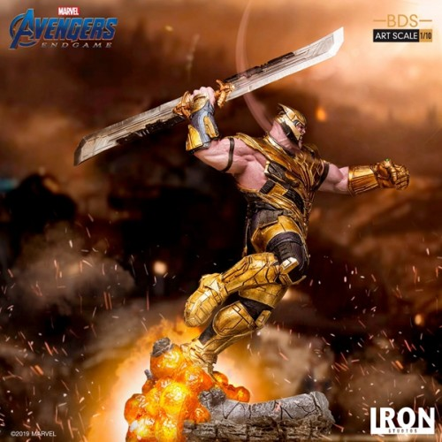【In Stock】Iron Studio Marvel Avengers Endgame Thanos statue