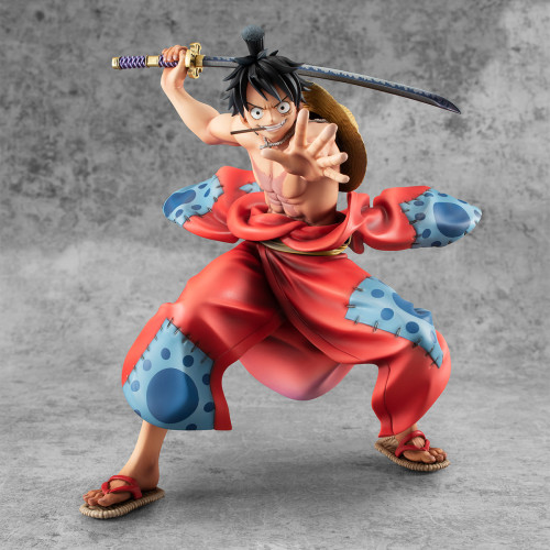 【In Stock】MegaHouse ONEPIECE Monkey D. Luffy Wano Country PVC figure