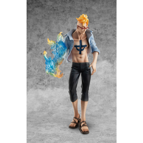 【In Stock】MegaHouse ONEPIECE Marco Portrait Of Pirates PVC figure
