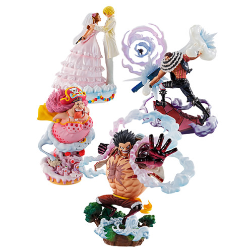 【In Stock】MegaHouse ONEPIECE Whole Cake Island PVC figure