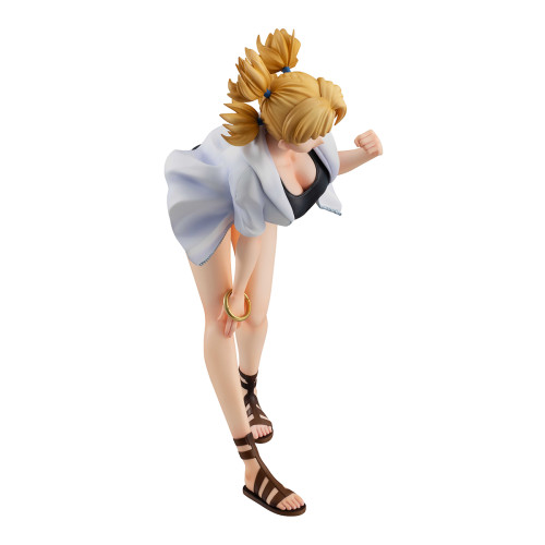 【In Stcok】MegaHouse NARUTO Temari swimsuit PVC figure