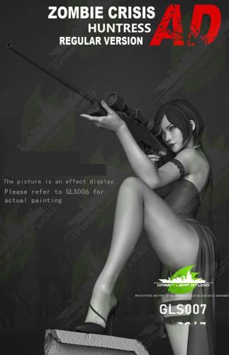 【Preorder】Green Leaf Studio Resident EvilAda Wong 1/4 Scale regular version GLS007 resin statue's postcard