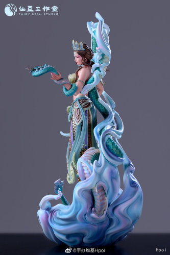 【In Stock】Fairy Bean Studio Buddhism Virapaksa feminization resin statue