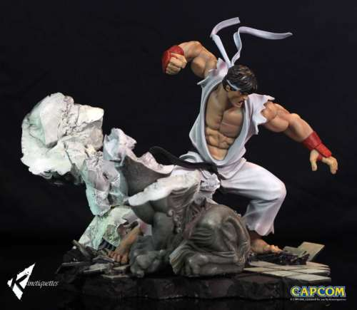 【Preorder】Kinetiquettes Street Fighter Ryu 1:6 scale resin statue's post card
