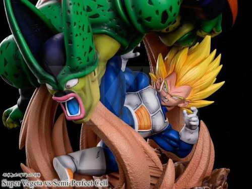 【In Stock】MRC Studio VKH Dragon Ball Super Vegeta vs Semi-Perfect Cell resin statue