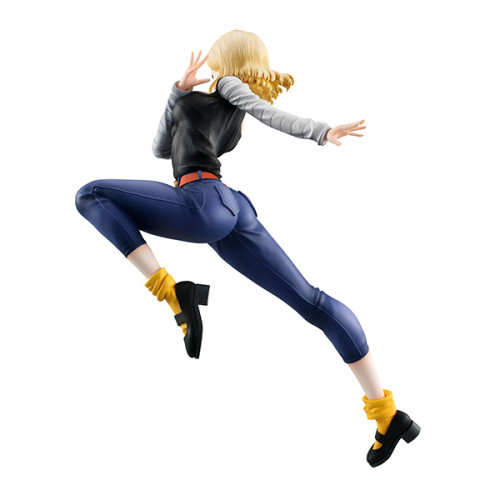 【In Stock】BANDAI MegaHouse GALS Dragon Ball Android 18 C18 Ver4 PVC figure