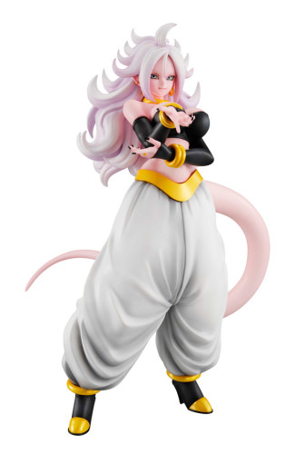 【In Stock】BANDAI MegaHouse GALS Dragon Ball Android 21 C21 PVC figure