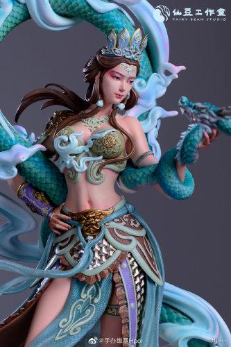 【In Stock】Fairy Bean Studio Chinese myths feminine Virapaksa resin statue
