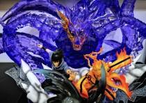 【In Stock】Ultimate Belief Naruto&Sasuke Susanoo Kurama 1:8 scale resin statue