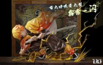 【In Stock】TNT Studio Kimetsu no Yaiba Demon Slayer Agatsuma Zenitsu resin statue