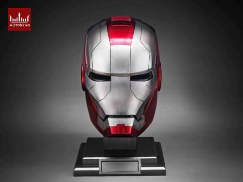 【In Stock】AutoKing Stutido Iron Man MK5 voice control helmet 1/1 scale