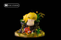 【Preorder】M5 STUDIOS Pokemon The daily life of Psyduck resin statue's post card