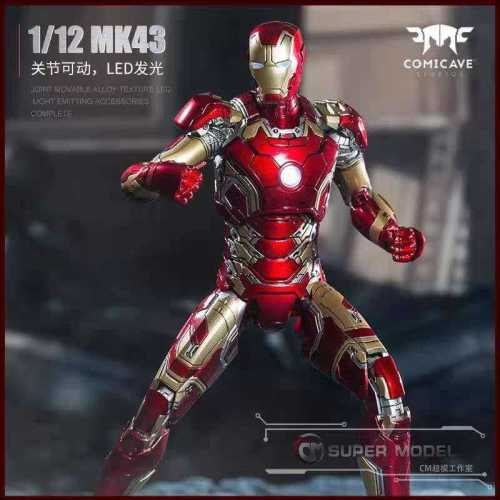 【In Stock】Comicave Mavel Iron Man MK43 copyright statue