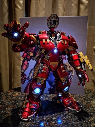 【In Stock】Comicave Marvel Iron Man MK44 Hulkbuster statue