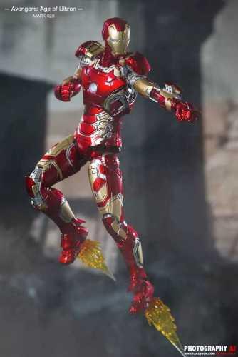 【In Stock】Comicave Mavel Iron Man MK43 copyright statue