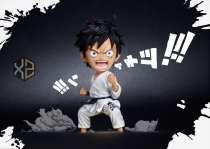 【In Stock】XZ Studio One Piece athletics meeting series No.1 Luffy taekwondo resin statue