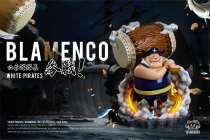 【Preorder】YZ Studio One Piece WhiteBeard Pirates Blamenco resonance series resin statue's post card