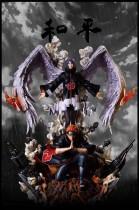 【In Stock】Surge&CW Studio  Peace  Pain&Konan combination JIBAN resonance series resin statue