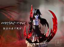 【In Stock】A+ Studio BLEACH Ichigo The Final Moon Fang Heaven-Piercer resin statue