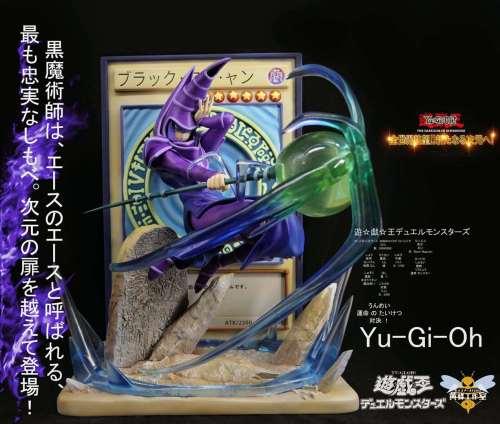 【In Stock】WASP Studio Yu-Gi-Oh! Dark Magician resonance series resin statue