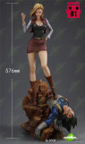 【In Stock】Green Leaf Studio Dragon Ball Android 18 red clothes GLS008 resin statue
